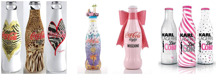 La botella de Coca Cola